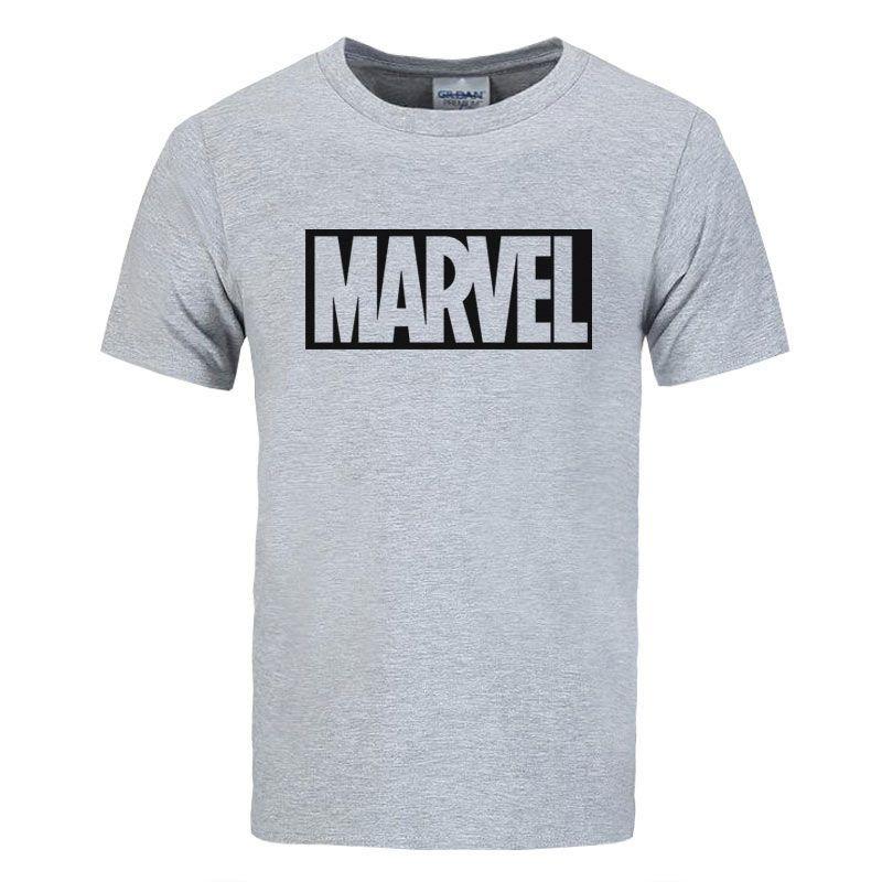 2017 Nouvelle Marque Marvel t-shirt hommes tops t-shirts Top qualité coton manches courtes hommes Occasionnels t-shirt marvel t chemises hommes livraison gratuite