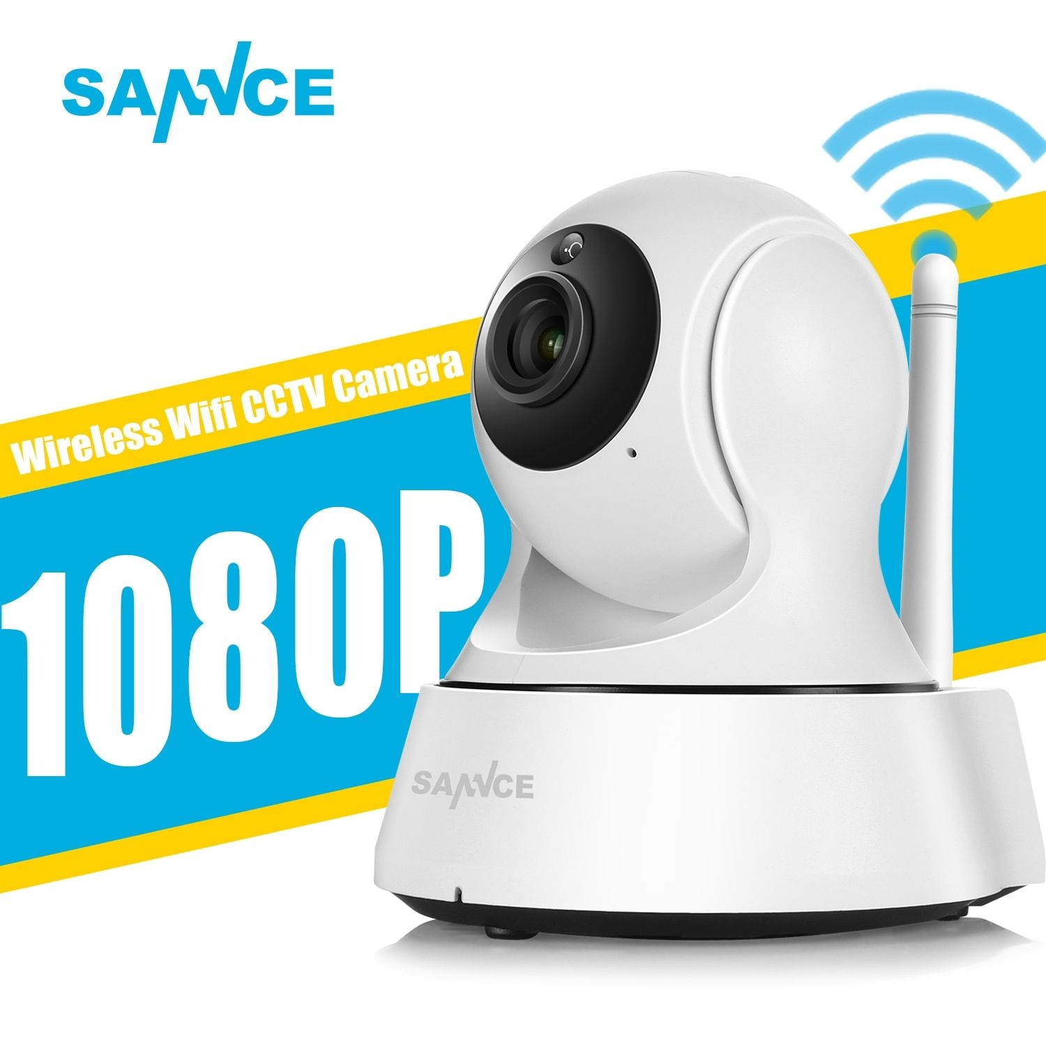 SANNCE 1080P Full HD Mini Wireless Wi-fi Camera Sucurity IP CCTV Camera Wifi Network Surveillance Smart IRCUT Night Vision Onvif