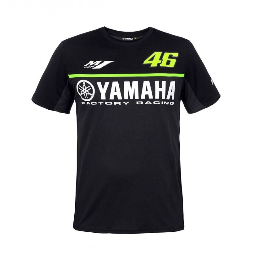 2017 free shipping new fashion for Yamaha motorcycle clothes cotton short sleeve T-shirt short 100% cotton M1 MOTO-GP VR46 Rossi