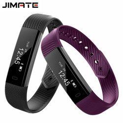 ID115 Pulseras inteligentes fitness Tracker contador de paso podómetro pulsera Bluetooth smartband impermeable sueño Monitores reloj