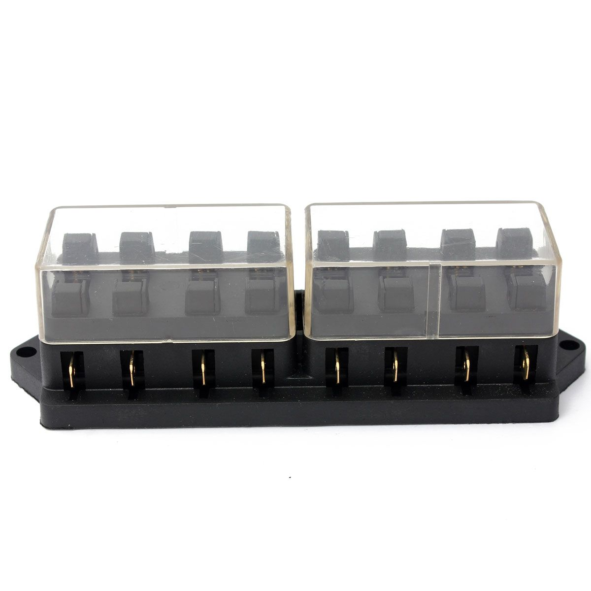 Universal 12V 8Way Car Truck Automotive Blade Fuse Box Holder Circuit With Cover