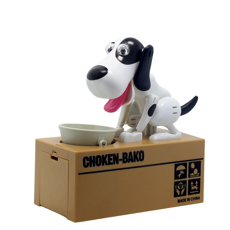 2019 Best selling products creative 6 colors Piggy bank Robotic Dog Bank Canine Money Box Doggy Coin Bank Entertainment