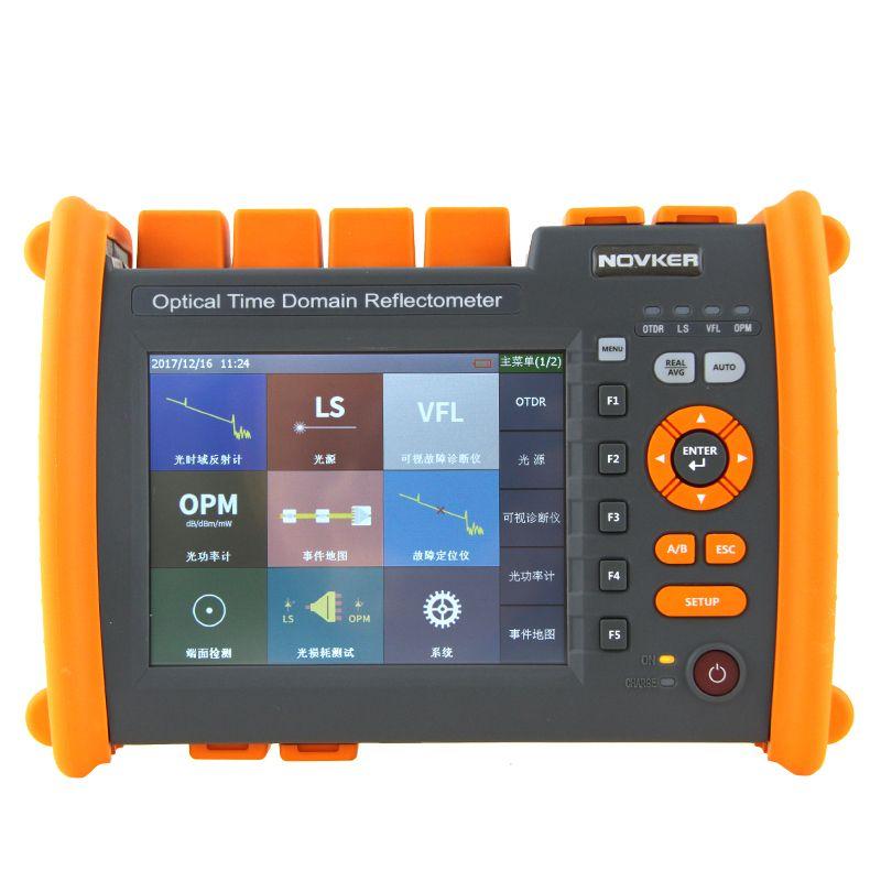 Hohe qualität OTDR NK5600-SM-OTDR-1310-1550nm-30/db Optical Time Domain Reflektometer mit VFL 5 MW Visual Fault Locator