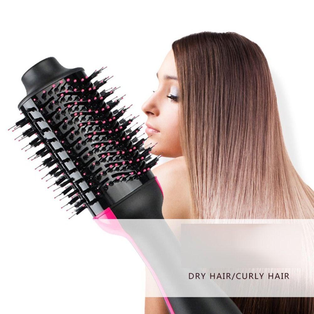 Sèche-cheveux Automatique Curl Sèche-Cheveux Brosse Cheveux Redresseur Entrée 220-240 v Cheveux Dispositif Permanentes Humide Et Sec à double Usage