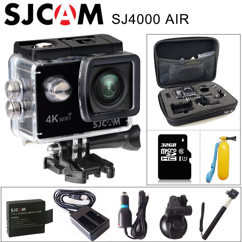 Original SJCAM SJ4000 AIR 4K Action Camera Full HD Allwinner 4K WIFI 2.0