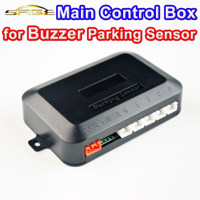 12V Main Control Box for Car Buzzer Parking Sensor Kit 4 Sensors Reverse Backup Monitor System