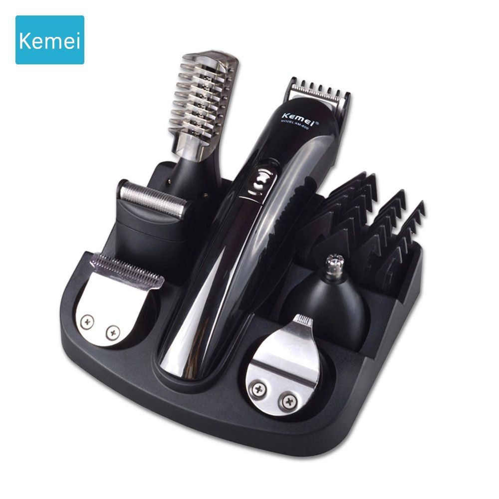 Kemei 6 in 1 trimmer beard trimer beard Hair clipper Machine cut hair Trimer Clipper hair cutting machine Electric Trimmer 5