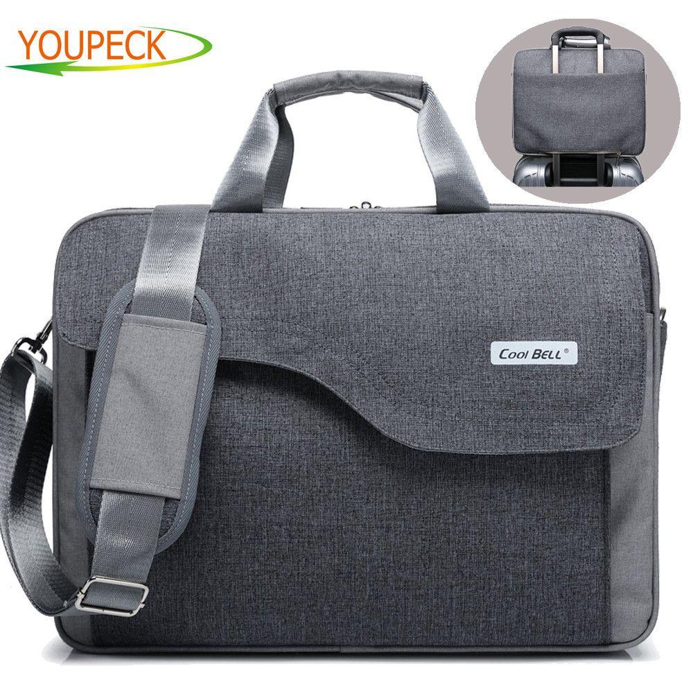 Sacoche d'ordinateur portable de marque 17.3 17 15.6 15 pouces sacs d'ordinateur de mode sacs à main femmes épaule Messenger sac pour ordinateur portable hommes serviette pour femmes