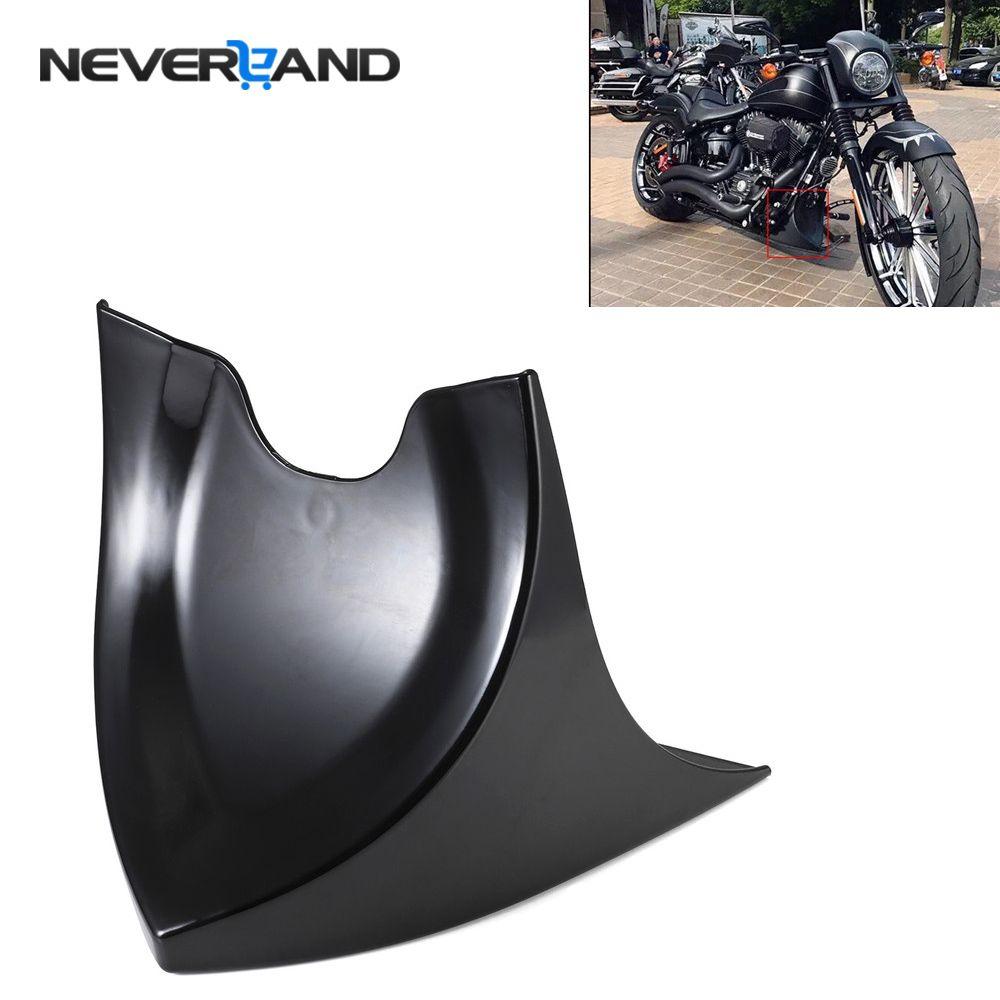 NEVERLAND Universal Lower Chin Fairing Front Spoiler For Harley Sportster 883 1200XL Cafer Softai Gloss V-ROD Touring Glide D35