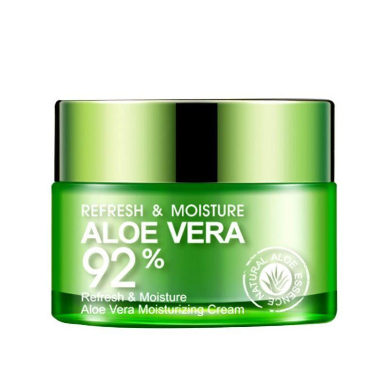 New Beauty Face Aloe Vera Gel Skin Repair Refresh Moisturizing Serum Cream Hydrating Nourishing Shrink Pores Oil Control Cream