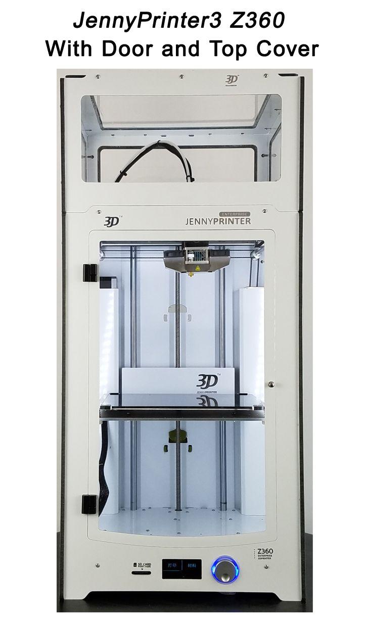Neueste! JennyPrinter3 Z360 DIY KIT Für UM2 Ultimaker 2 + Erweiterte Auto Nivellierung 3D Drucker Mit Top Abdeckung und Tür