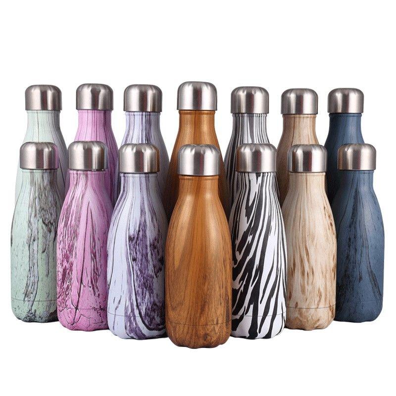 Bouteille de vin d'acier inoxydable de 500 ML/1000 ML forme bouteille thermos bouteille de voyage bouteille sous vide pour bouteilles d'eau bowling voiture bouilloire