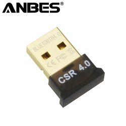 Mini USB Bluetooth Adaptateur V4.0 RSE Double Mode Sans Fil Bluetooth Dongle Récepteur Émetteur Pour Windows 10 7 8 Vista XP ordinateur portable