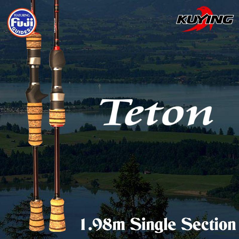 KUYING TETON L 1,98 mt 1 Abschnitt 6'6