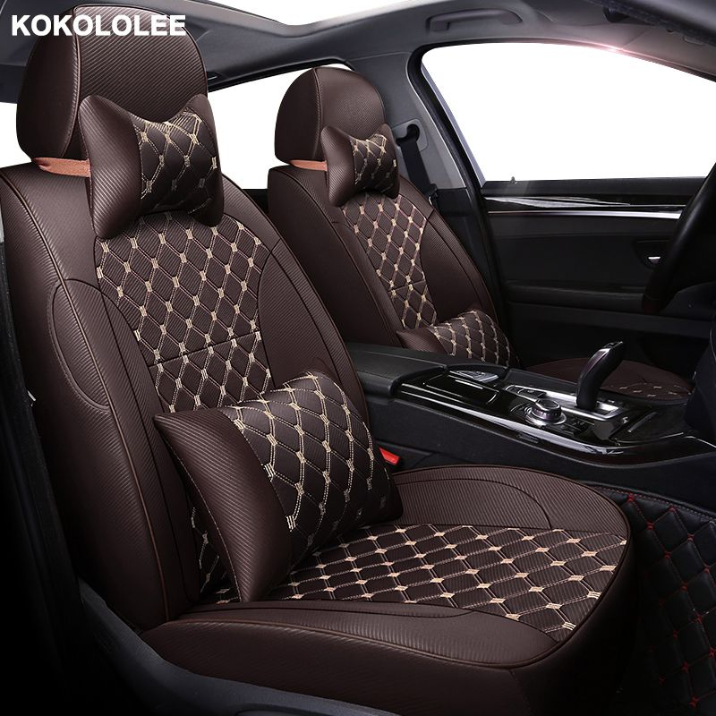 kokololee Custom car seat cover For mazda cx-3 cx-5 mazda 3 bk 6 gh gg 626 cx-7 cx-9 demio Auto accessories car seats protector
