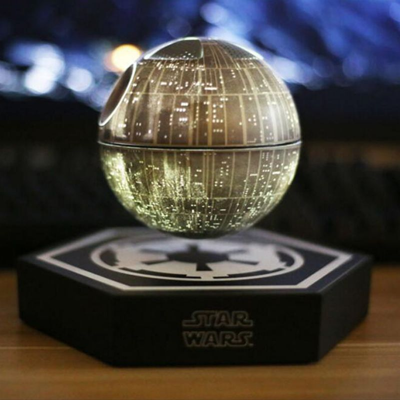 2017 Star Wars STARWARS death star maglev bluetooth wireless stereo rotating 360 degree Maglev Bluetooth speakers