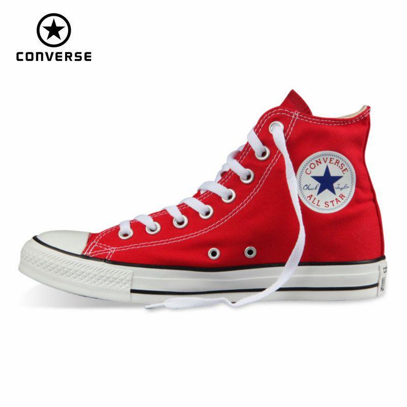 Original Converse all star schuhe männer und frauen turnschuhe leinenschuhe männer frauen hohe klassischen Skateboard-schuhe freies verschiffen
