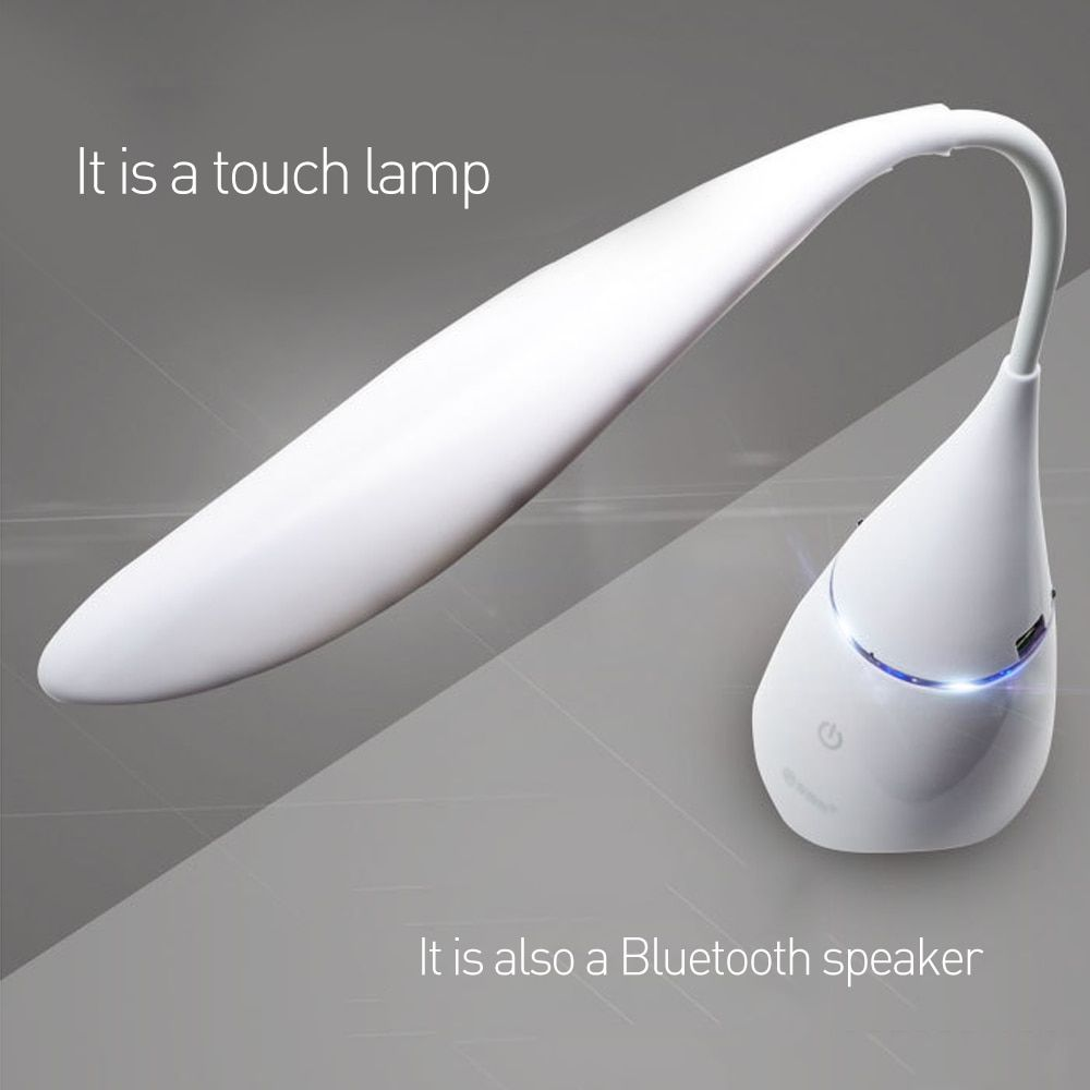 Dr. Speicher Led Schreibtisch Tischlampe Bluetooth Audio Lampe USB Gadgets DC5V lade magie lautsprecher einstellbare helligkeit leselicht