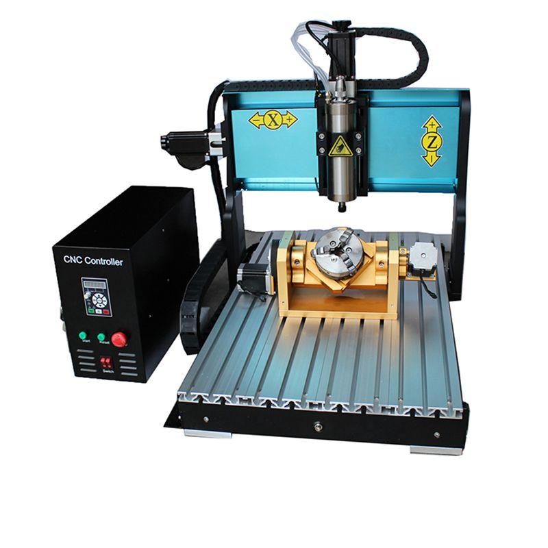 JFT Beste Qualität Parallel Port mini CNC Gravur Maschine 6040 2200 watt Spindel Motor 5 Achsen CNC Router