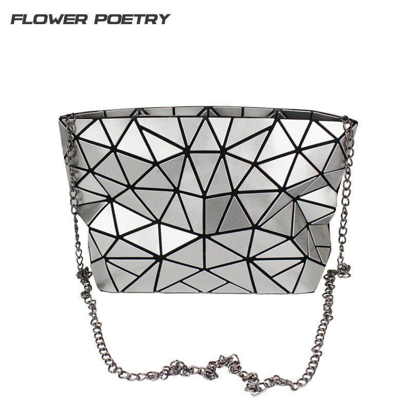 Famous Women Chain Shoulder Messenger Bag Diamond Fold Sequin Crossbody baobao Bags Small Women Clutch Handbag BaoBao