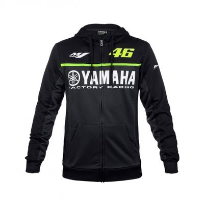 2017 new men's fashion 100% cotton MOTO-GP 46 suitable for Yamaha motorcycle riding hoodie racing clothes casual sweater coat
