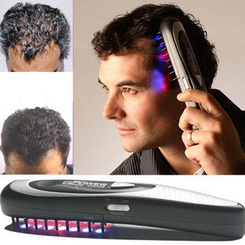 1 STÜCKE Elektro Drahtlose Infrarotstrahl Haarwachstum Laser Anti Haar verlust Haarwachstum Pflege Vibration Kopfmassage Kamm Massagegerät kopf Z3