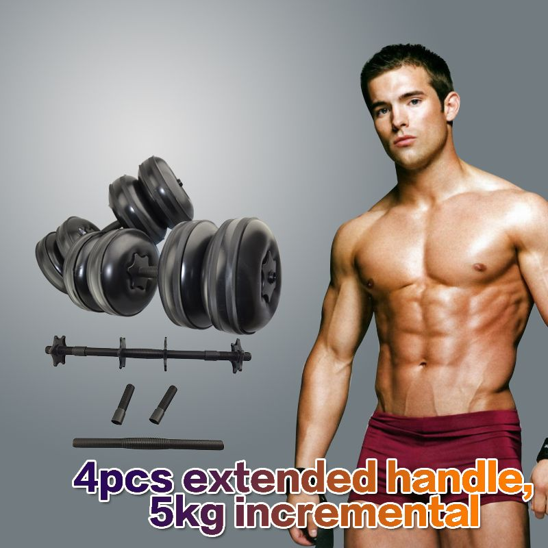 2017 Newest High Quality Adjustable Dumbbell Sets Water Filled Barbells Eco-friendly Crossfit Equipment for Weight Loss