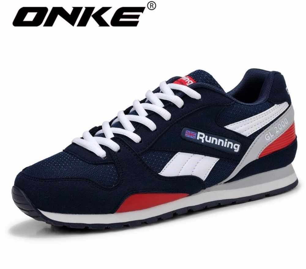 ONKE New listing hot sales summer Breathable Unisex men sports shoes running Light end sneakers 798-598