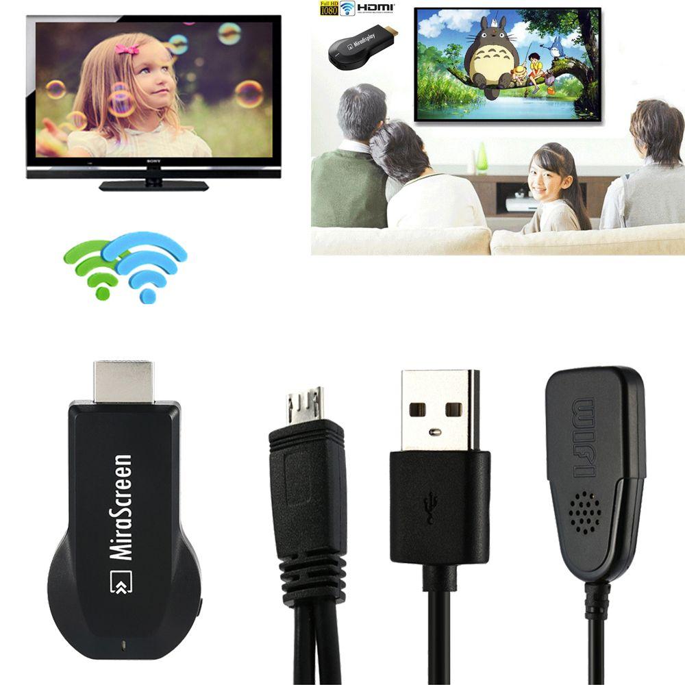 1080 p HDMI AV Adaptateur sans fil wifi dongle pour iPad/iPhone X XS MAX XR 5S 6 s 7 8 plus pour Samsung S8 S9 Note9 iOS Android à TV