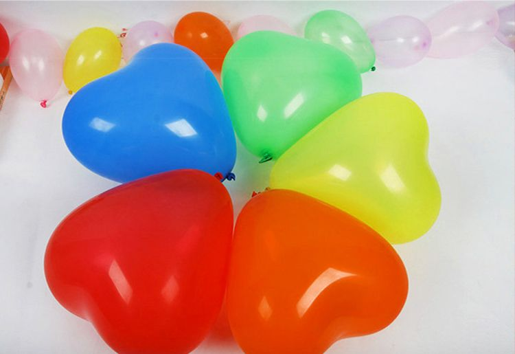 100pcs7 inch color balloon, 1.5g latex Christmas wedding New Year decoration, holiday birthday party decorations children's toys