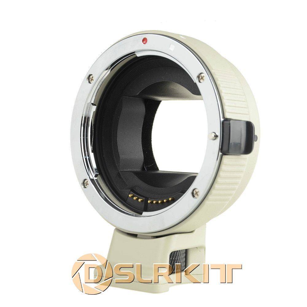 Electronic Auto Focus Adapter for Canon EOS EF-S Lens for Sony NEX A7 A6000 NEX White Version