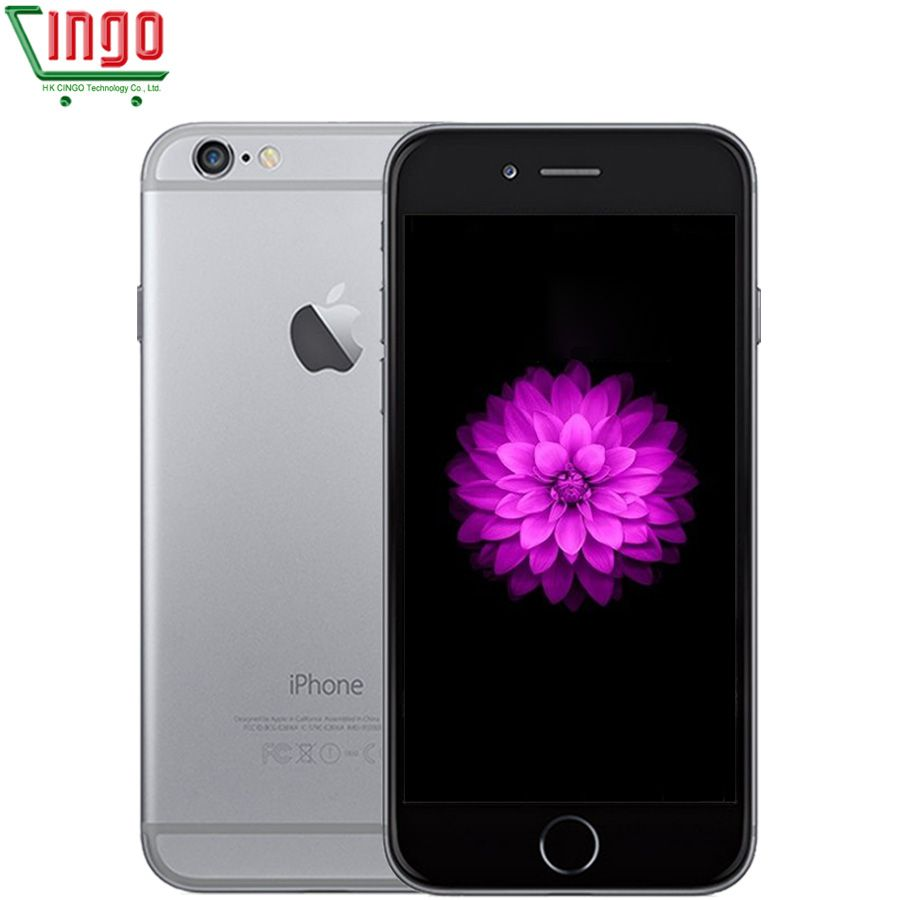 <font><b>Unlocked</b></font> Apple iPhone 6 1GB RAM 4.7 inch IOS Dual Core 1.4GHz 16/64/128GB ROM 8.0 MP Camera 3G WCDMA 4G LTE Used Mobile phone