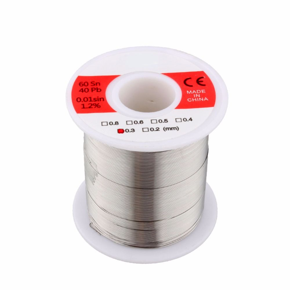 1 Pcs 150g Solder Wire Lead Rosin Core Solder Wire Soldering Tin Wires 0.3mm 0.4mm 0.5mm 0.6mm Optional