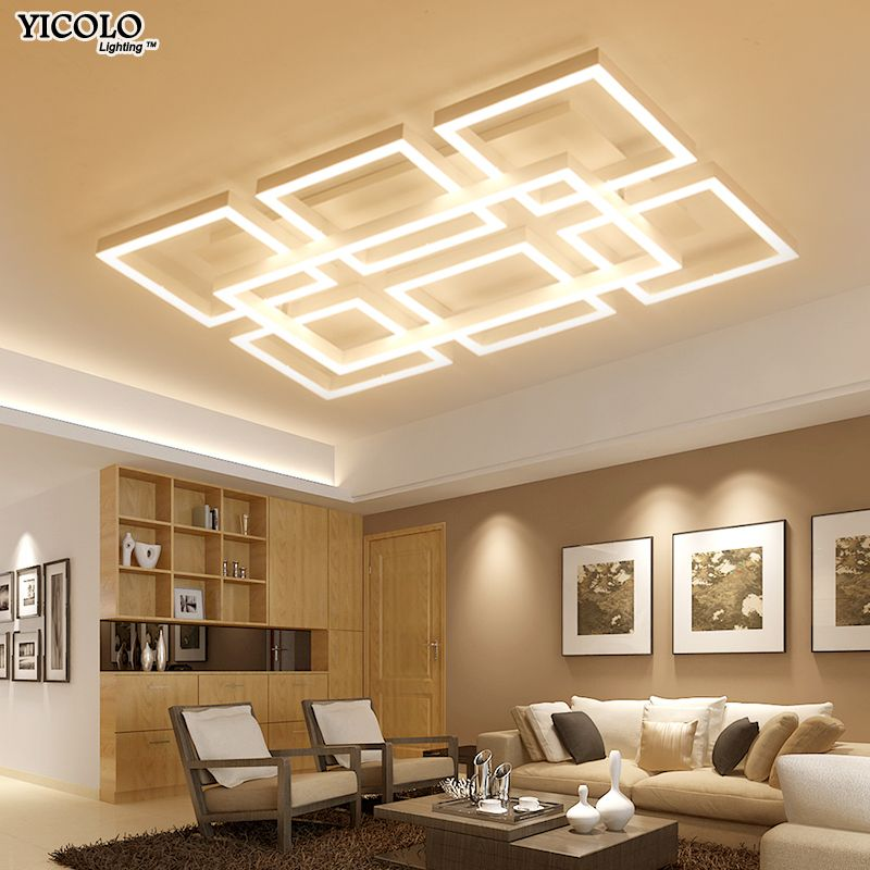 Dimming Led Ceiling Lights Surface mount For Living Room Bedroom Light FIxtures lamparas de techo abajur