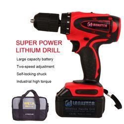 LANXSTAR 36 V Haute-puissance Perceuse sans fil avec Haute-capacité Rechargeable Au Lithium Batterie Sans Fil tournevis Électrique Power Tool