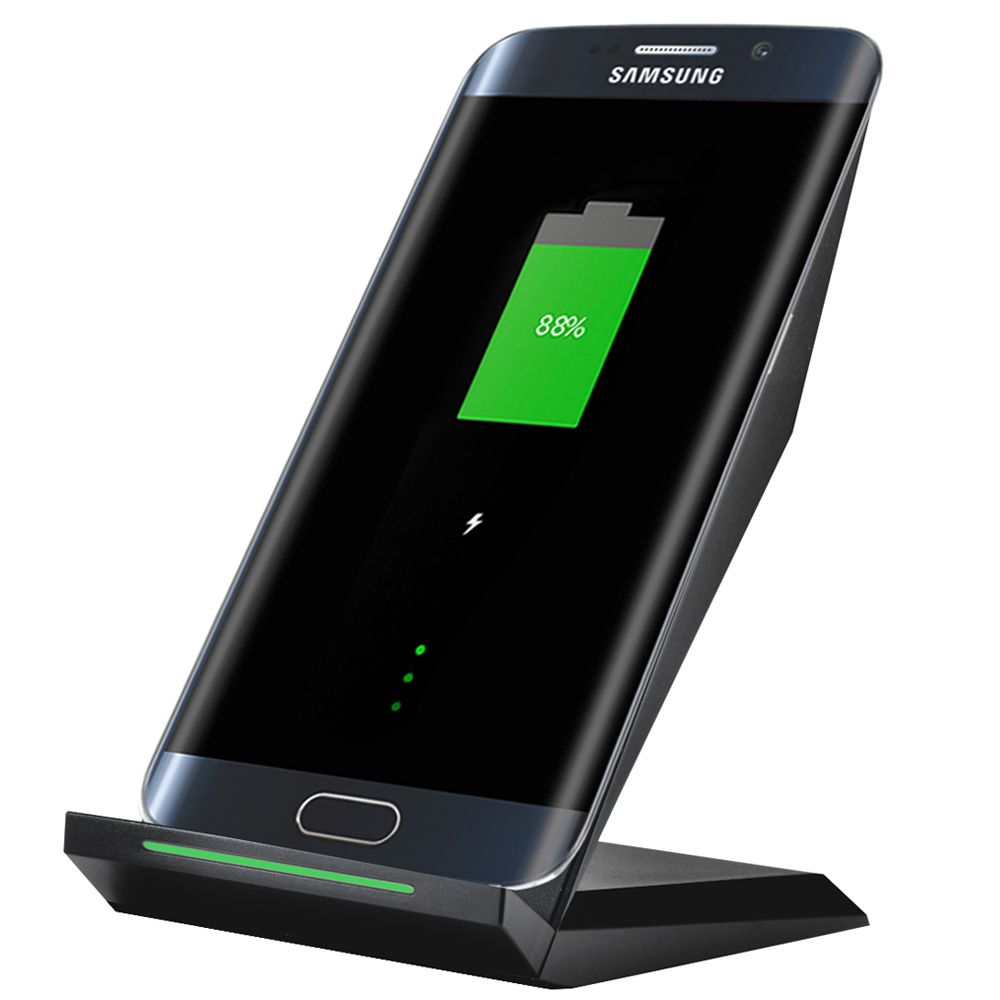 CHUNFA Qi Wireless Charger for Samsung Galaxy S7 Edge S7 Fast Charger Dock Desktop Qi Wireless Charging for Samsung S6 S6 Edge