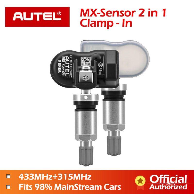 Autel MX-Sensor 433mhz 315mhz 2 in1 MX Sensor Universal Reifen Druck Programmierung Clamp In Autel TPMS PAD TS601 TS401 TPMS Werkzeug