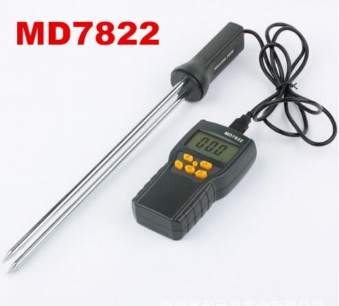 MD7822 Digital Contains Wheat Corn Rice Test Hygrometer Grain Moisture Meter Humidity Tester