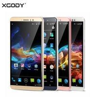 XGODY Y14 смартфон 6 дюймов 3g разблокирована мобильный телефон для двух SIM-карт Android 5,1 4 ядра 1 ГБ + 8 ГБ 5.0MP Камера gps Wi-Fi телефон