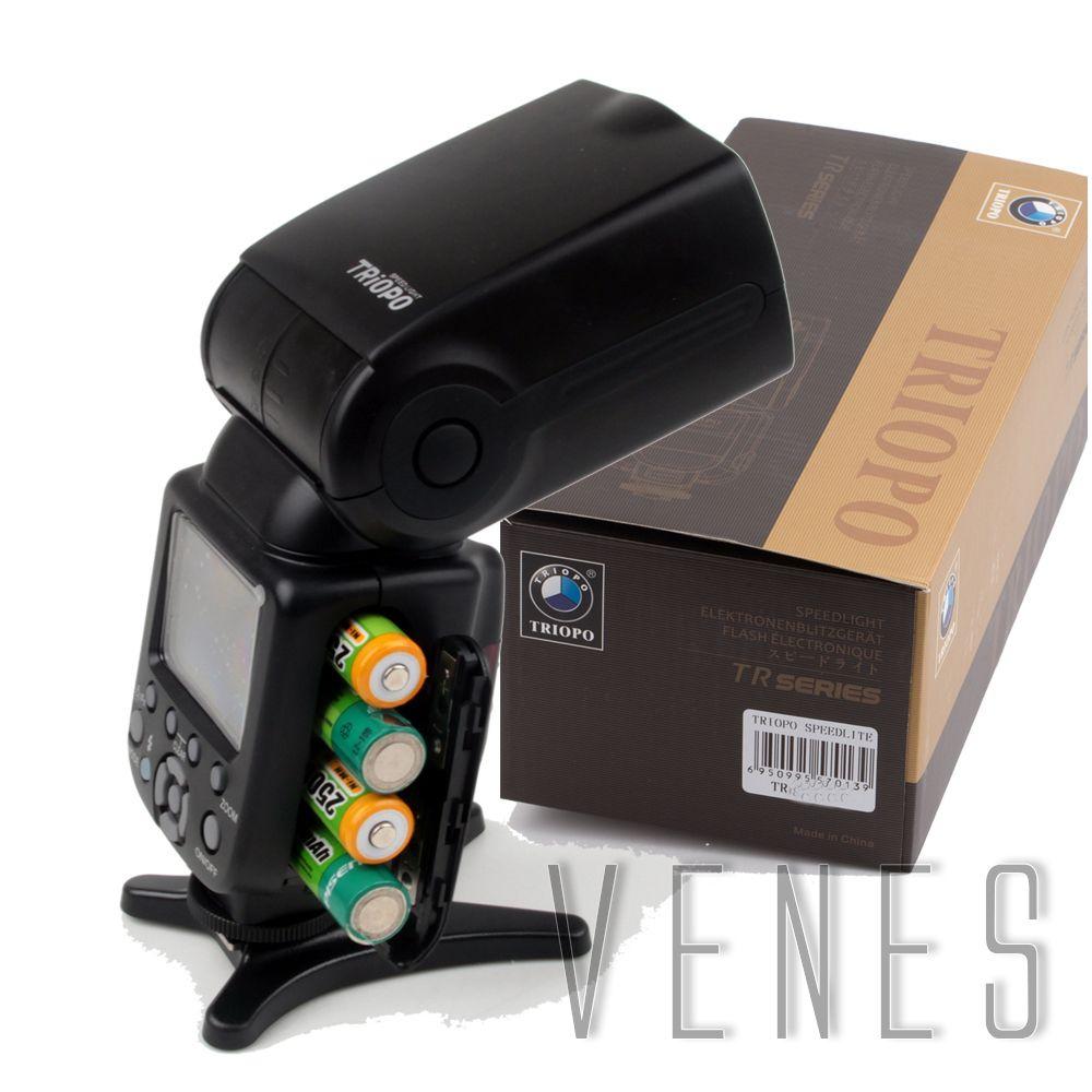 TRIOPO TR-586EX Sans Fil Mode Flash TTL Speedlite Pour Nikon comme YN-565EX D5200 D3200 D7000 D5100 D5000 D800 D600 D7100