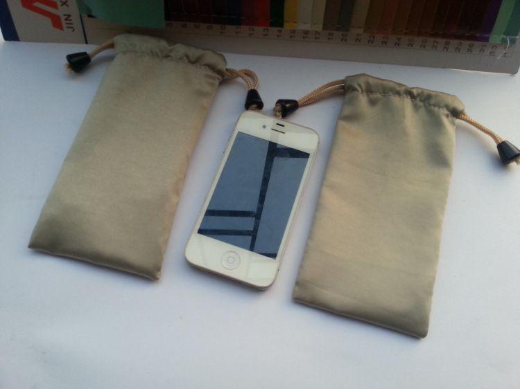 Nouveau 4.7 ''flanelle Sacs Signal Blocker RF Anti-Radiation Shield Housse pour iPhone 4 4S 5 5S 5c 6 s, Livraison Gratuite