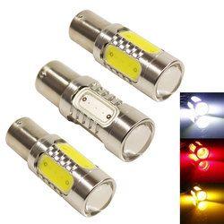 PY21W bau15s 1156py lámpara auto del bulbo del led proyector 7.5 W amarillo Amarillo Blanco rojo auto freno respaldo luz Lámparas 12 V