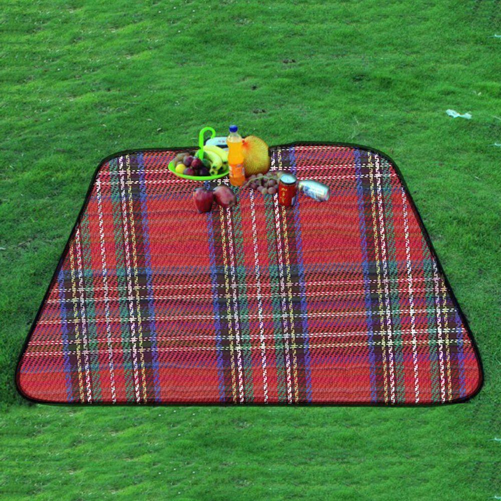 2,5x1,5 mt Große Strandmatte Picknick Folding Isomatte Multiplayer Wasserdicht Isomatte Camping Mat feuchtigkeitsfest Plaid decke