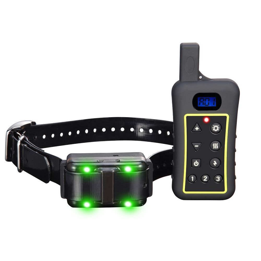 dog equipment top sales dog training collar 1200meters rainproof remote electric dog shock collar with anti barking device
