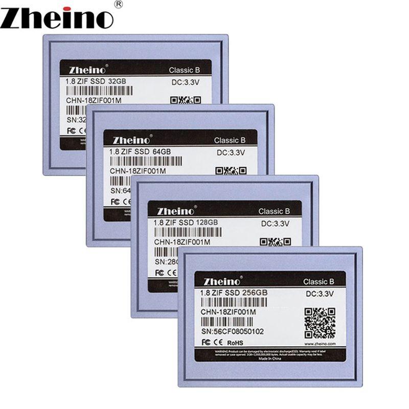 Zheino 1.8 pouce SSD ZIF 40pin 32 gb 64 gb 128 gb 256 gb Interne Solid state drive 2D MLC disque dur pour Ordinateur Portable lecteur de Musique