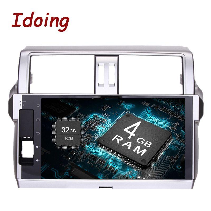 Idoing 2Din Android8.0/7.1 Car Radio GPS Multimedia Player 10.2