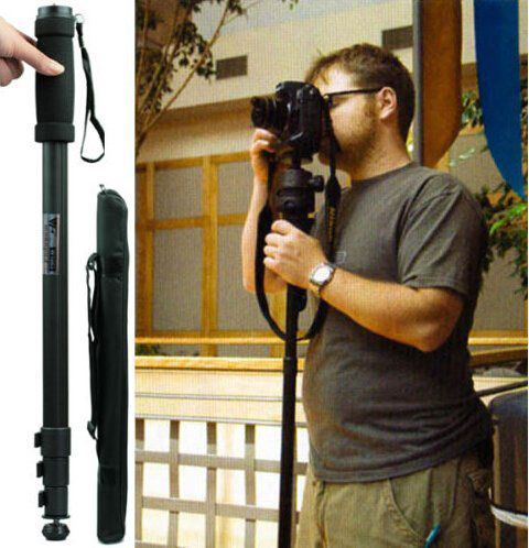 WILTEEXS <font><b>Tripod</b></font> Monopod WT1003 Camera <font><b>Tripod</b></font> Lightweight 67 Camera Stand For Canon Eos Nikon Sony Fuji Olympus All DSLR