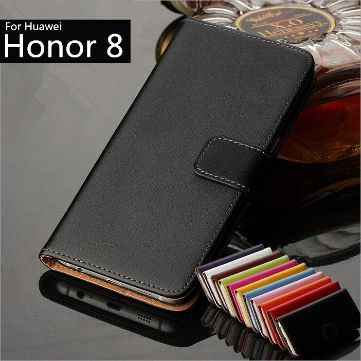 Huawei Honor 8 5.2-pouces couverture cas Prime PU Portefeuille En Cuir Flip cas pour Huawei Honor 8 avec Fentes de Cartes et Titulaire De Trésorerie GG