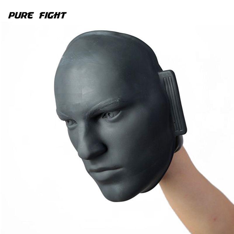 Vivid Rubber Human Dummy Face Mitt Boxing Kicking Pad MMA Taekwondo Jab Fight Sparring Training Pressure Relief Punching Target