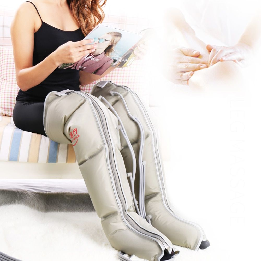 EMS elderly pneumatic leg massage friction foot massage electrical air pressure wave physical therapy massage